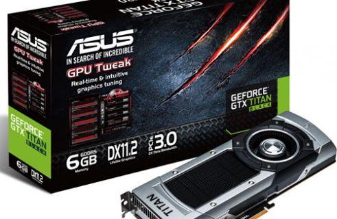Süper bilgisayar düzeyinde ekran kartı: ASUS GTX Titan Black