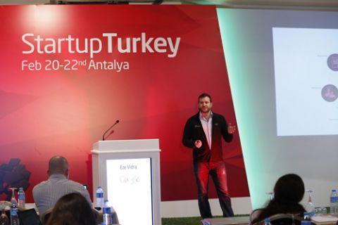 Dünyanın girişimcisi Startup Turkey'de bir araya geldi!