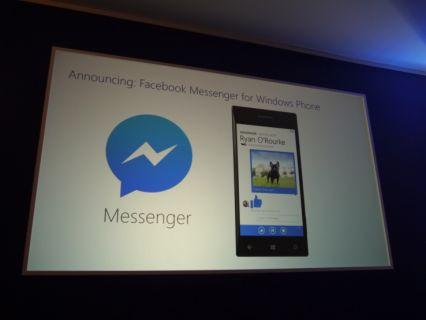 Facebook Messenger, Windows Phone'a geliyor!