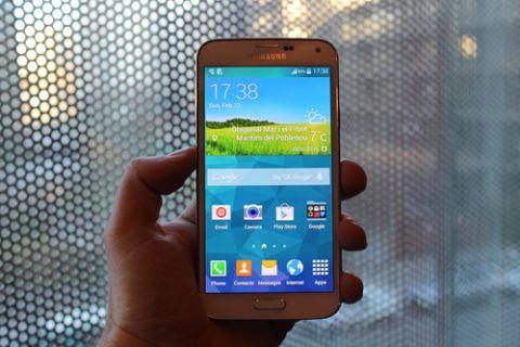 Galaxy S5 için yeni bir güncelleme yayınlandı