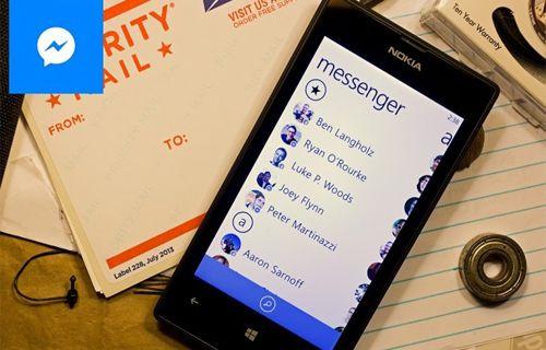 Windows Phone için Facebook Messenger yayınlandı - İndirin