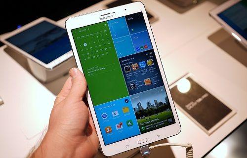 Samsung üst sınıf AMOLED ekranlı tablet duyurabilir