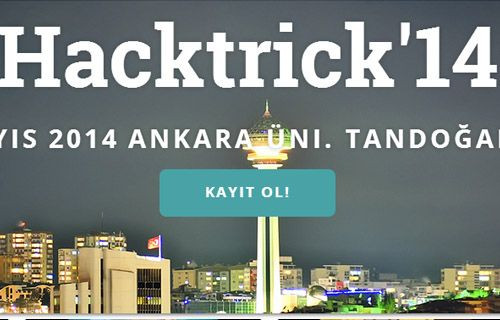 Hacktrick'14 Güvenlik Konferansı çok yakında