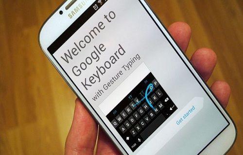 Google klavye güncellendi