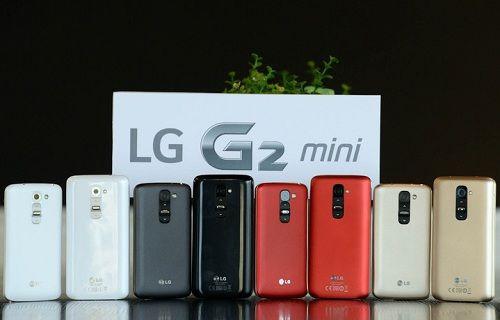 LG G2 mini satışa sunuluyor