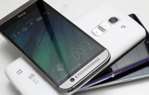 Ekran karşılaştırması: HTC M8 vs Galaxy S5,  Xperia Z2 ve LG G Pro 2