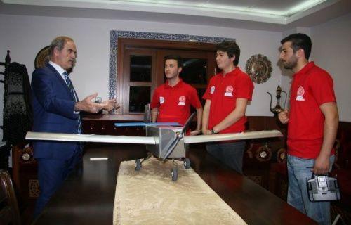Uludağ üniversitesinin Atmaca-1 adlı İHA'sı ABD'de yarışacak