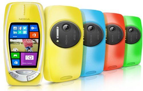 Nokia'dan Windows Phone'lu 41 MP Purewiew kameralı 3310 geliyor!