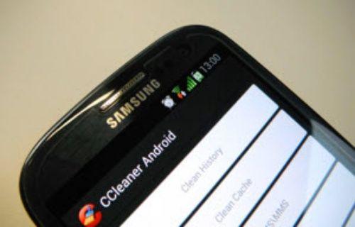 CCleaner artık Android'de!