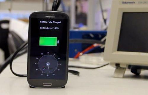 Samsung Galaxy S3, 29 saniyede %100 şarj edildi! (Video)