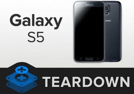 Samsung Galaxy S5 yine parçalara ayrıldı!