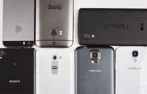 Iphone 5s one m8 galaxy s4 galaxy s5 nexus 5 xperia z1 ve lg g2