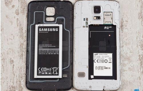 Galaxy S5'in Pil Testi Sonuçlarına Oldukça Şaşıracaksınız.
