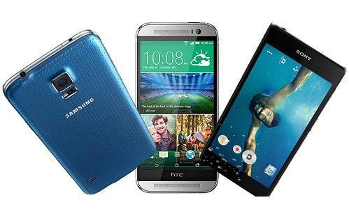 Sony Xperia Z2, Samsung Galaxy S5, HTC One M8 Video Karşılaştırma