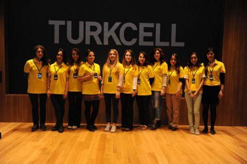 Turkcell'in Kardelenler'i teknolojiyle  'Geleceği Yazıyor'