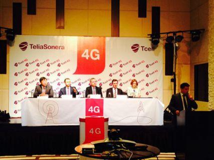 TeliaSonera'dan Tacikistan'a 4G teknolojisi !