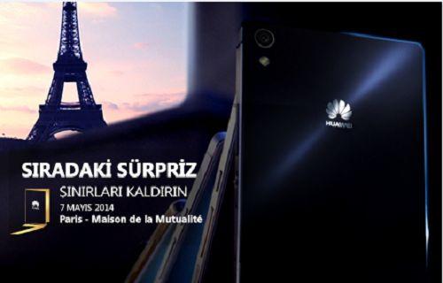 Huawei Ascend P7 çok yakında bizlerle!