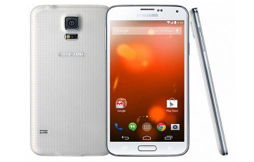 Samsung Galaxy S5 Google Play Edition Modeli Galaxy S4 Google Play Edition Adı Altında Satışa  Sunul