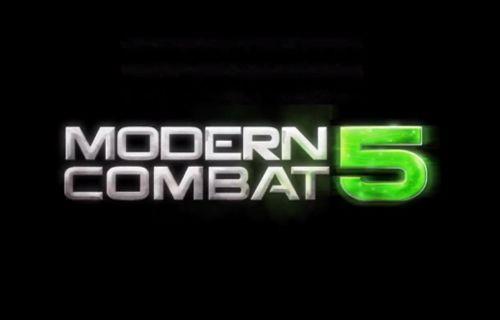 İşte Modern Combat 5'ten ilk görüntü!