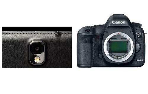 Samsung Galaxy Note 3, Canon EOS 5D Mark III'e Karşı [Video]
