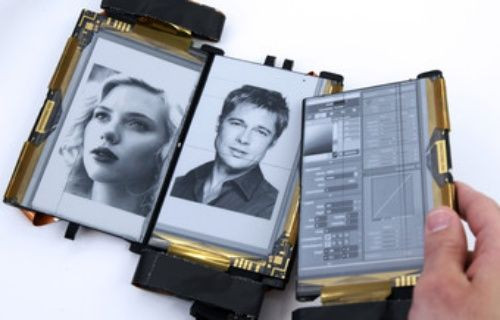 Kağıt gibi katlanabilen akıllı telefon: Paper Fold [Video]