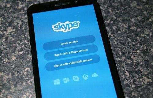 Skype'ta sevindiren yenilik