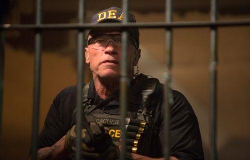 Başrolde Arnold Schwarzeneger'ın oynadığı film 'Sabotaj' sinemalarda [Video]