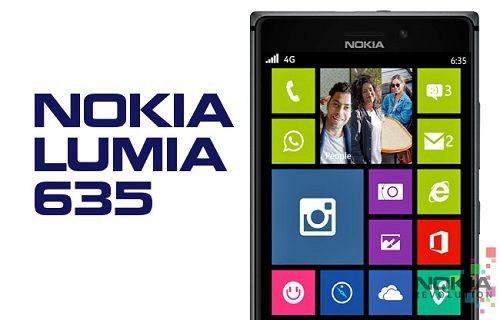 Nokia giderayak Lumia 635 telefonunu tanıttı! [Video]