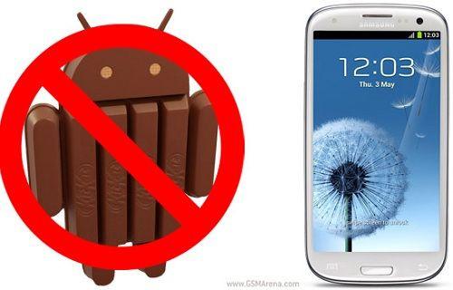 Galaxy S III kullanıcıları şokta!
