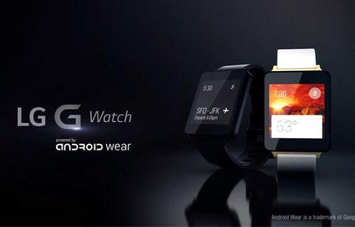 LG G Watch için ilk video yayınlandı