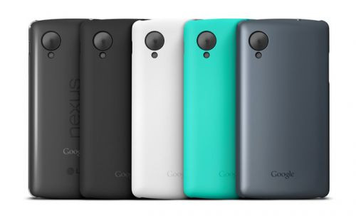 Nexus 5 kılıfları Google Play'de satışa sunuldu