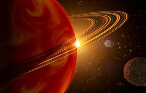 Satürn gezegeni Dünyamızın yanından geçseydi... Video
