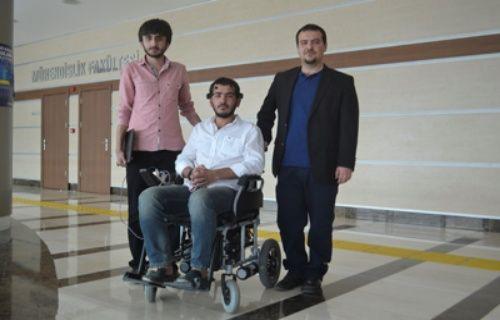 Türk öğrenciler felçli hastalara umut oldu