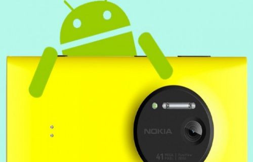 Nokia 41 Mp PureView kameralı Android'li telefon üretecek mi?