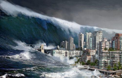 Asteroidler 500 metre yükseklikte Tsunami dalgasına yol açabilir!