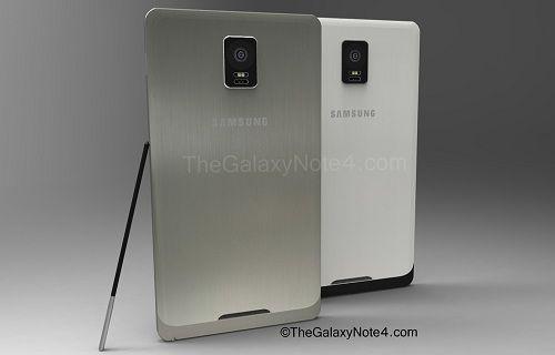 Galaxy Note 4'ün ekran detayları ortaya çıktı