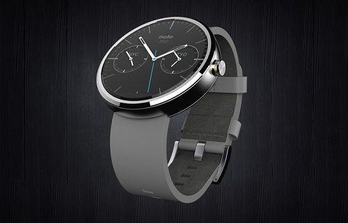 Moto 360 akıllı saatin fiyat bilgisi geldi