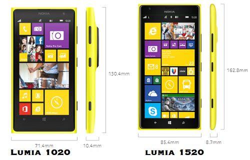 Nokia Lumia 1520 ve Nokia Lumia 1020 Kamera Karşılaştırma