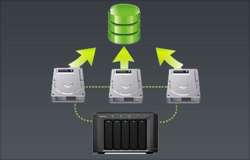 Diskstation'da RAID oluşturma