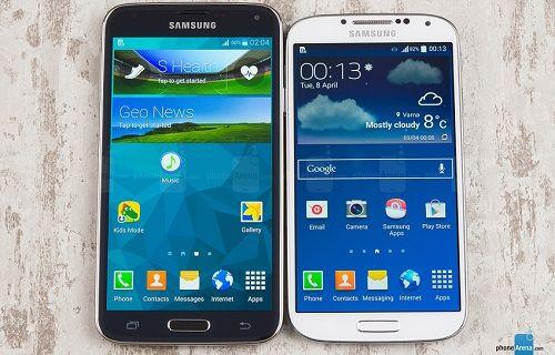 Galaxy S5 ve Galaxy S4 için Android 4.4.3 test sürecinde