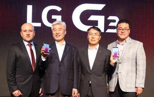 LG G3 dünya ile aynı anda İstanbul'da tanıtıldı