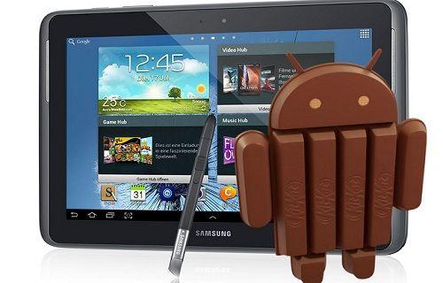 Galaxy Note 10.1 için Android 4.4.2 güncellemesi başladı