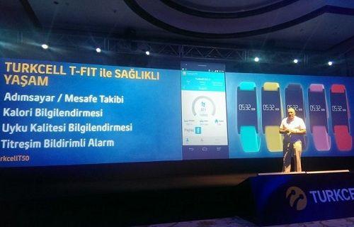 Turkcell, T-Fit bilekliği duyurdu