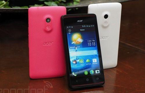 Acer'dan giriş seviyesi akıllı telefon: Acer Liquid Z200