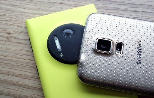 Samsung Galaxy S5 ve 41 Megapiksellik Nokia Lumia 1020 Kamera Karşılaştırma Testi