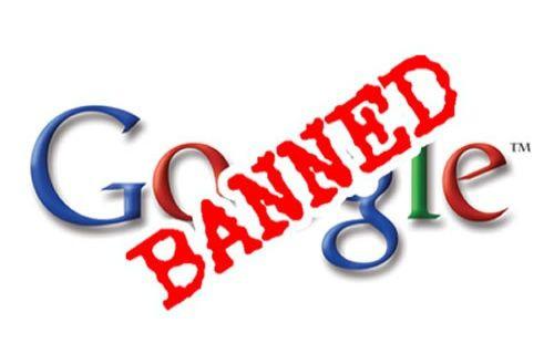 Google yasaklandı