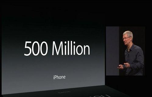 iPhone satışları 500 milyonu geride bıraktı