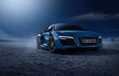 Audi, Dünyanın lazer farlara sahip ilk otomobili olan Audi R8 LMX'i duyurdu