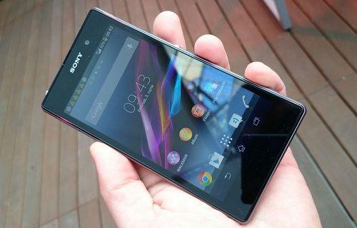 Xperia Z1 için mini bir güncelleme yayınlandı