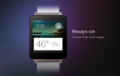 LG G Watch'ın işlemcisi netlik kazandı